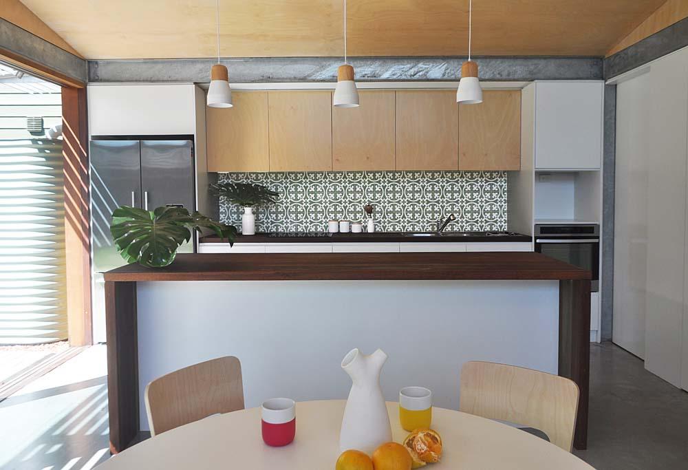 Marrickville Home Renovation - Modern Modular Kitchen - Clockwork Constructions