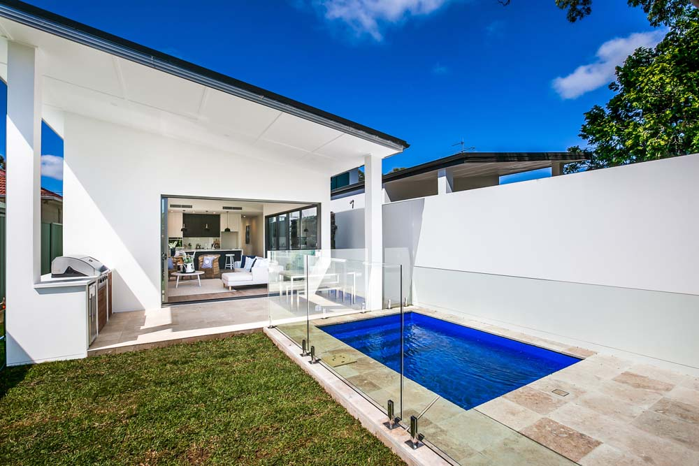 Castelnau Yard and pool - Home Renovation - Clockwork Constructions