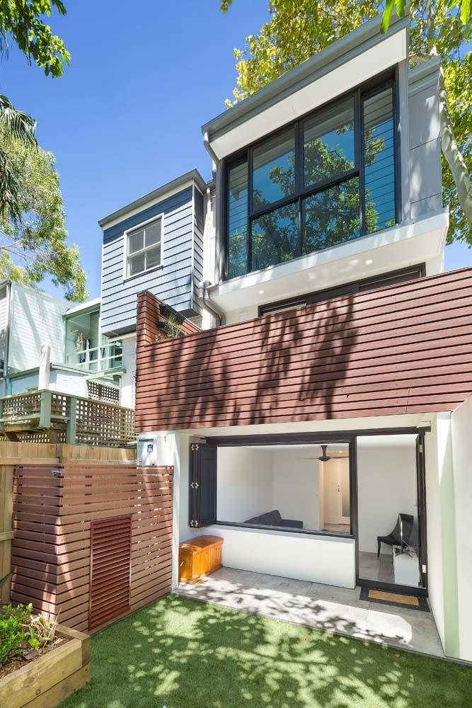 Rose Backyard view - Home Entrance