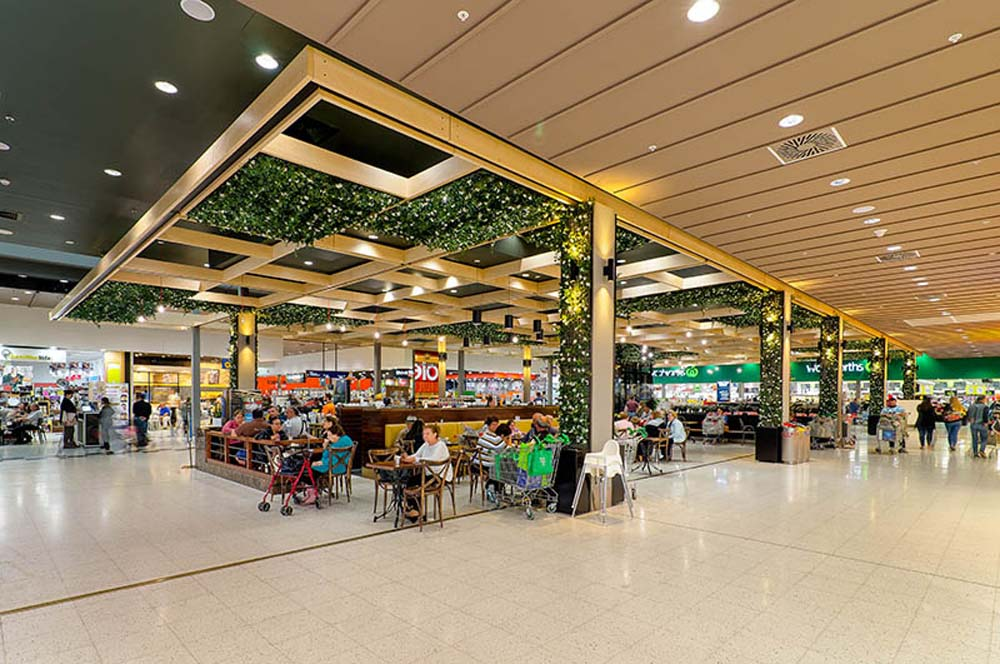 Stockland shopping mall - roof feature renovation - Commercial renovation 5