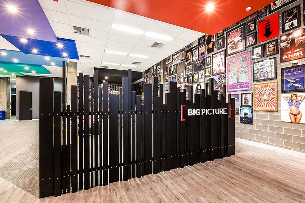 Big picture office space renovation - Clockworks Constructions