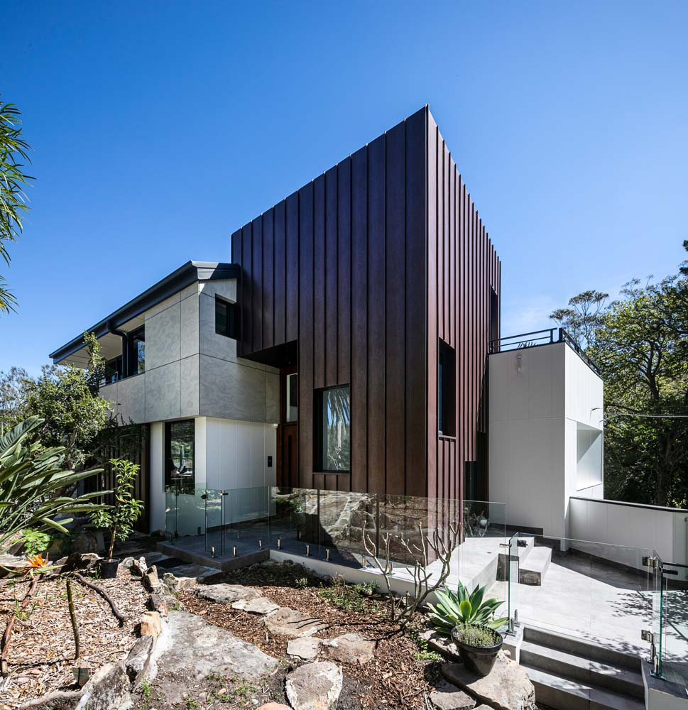 Woronora Home Renovation - Outdoor side angle view 2