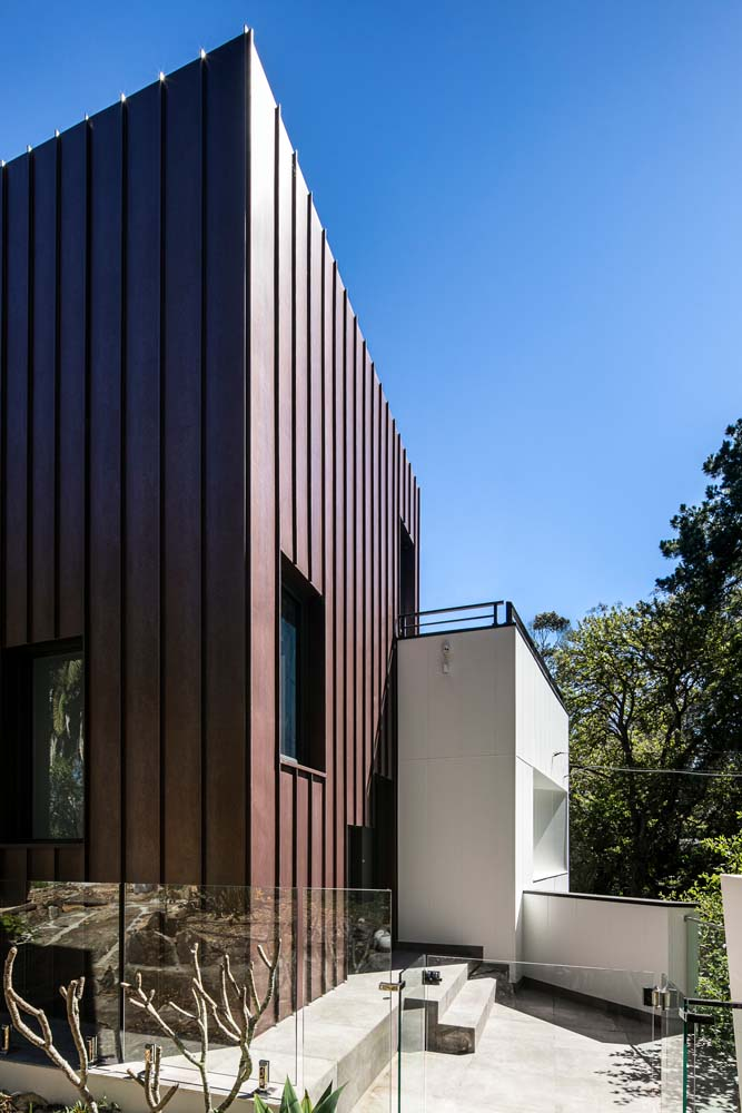 Woronora Home Renovation - Outdoor side angle view