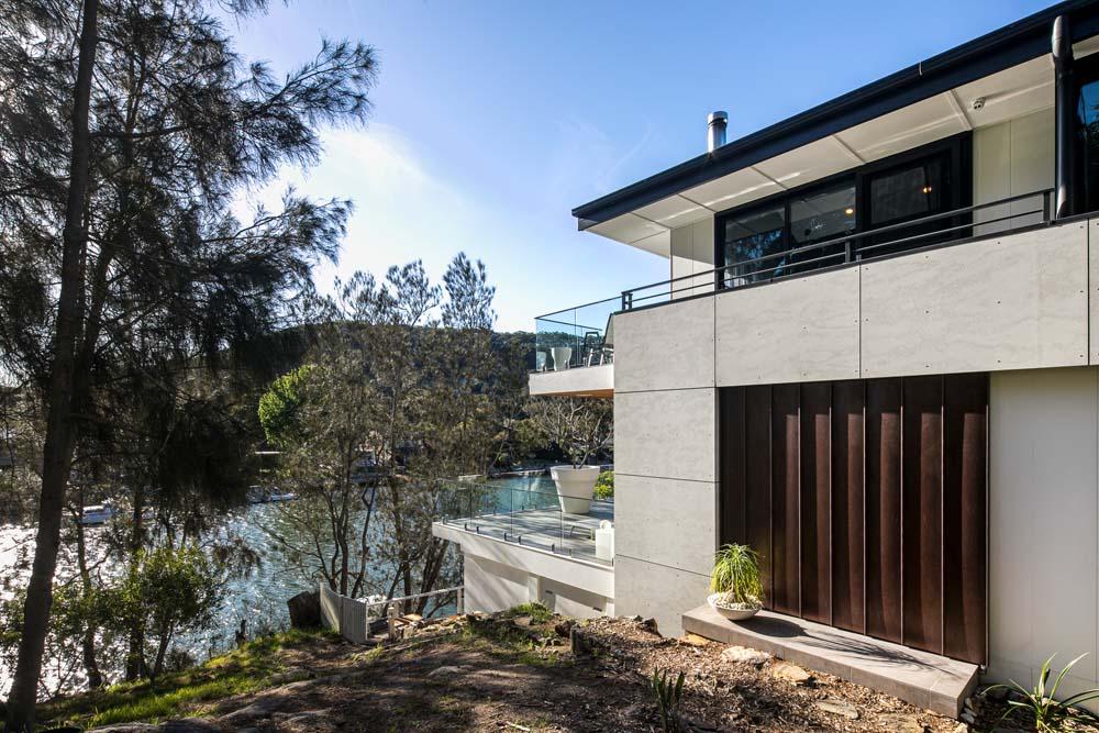 Woronora Home Renovation - Outside façade - Sea Facing view