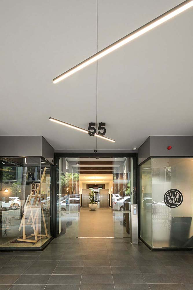 Holt Street - Commercial Renovation - Exterior front entrance