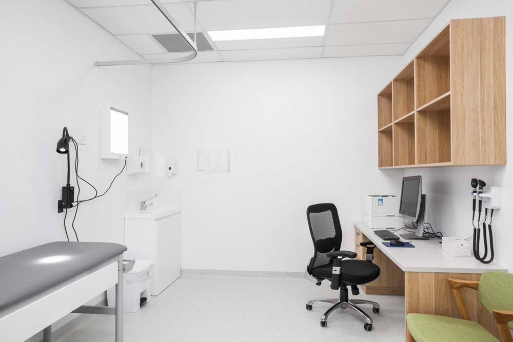 Kirrawee Medical Centre - Healthcare Renovation - Consultation room