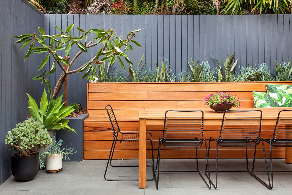 Balmain Home Renovation - Outdoor dining area - Clockwork Constructions