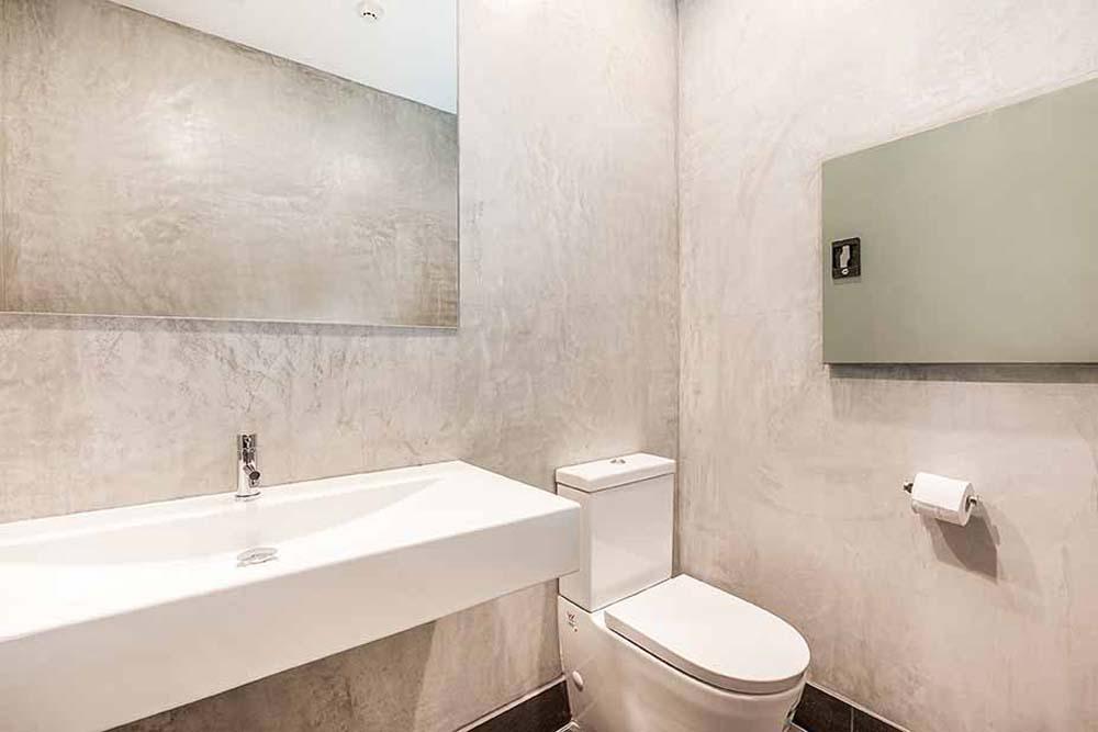 Big picture - Bathroom renovation Real Estate Bathroom Renovation - Office Space renovation