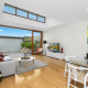major renovations Zetland modern living room - Home Renovation - Clockwork Construction
