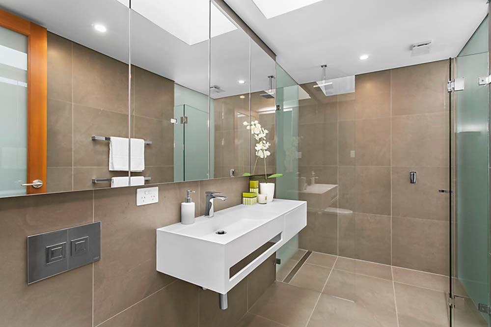 Zetland Bathroom Renovation with modern fittings and sleek finish - Home Renovation