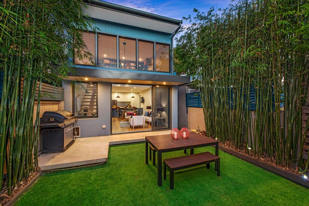 Erskinville Home Façade - Outdoor barbeque and sit out - Home Renovation