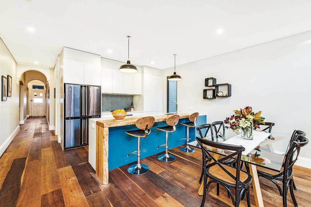 Erskinville Dining and kitchen area - Home Renovation - Clockwork Constructions