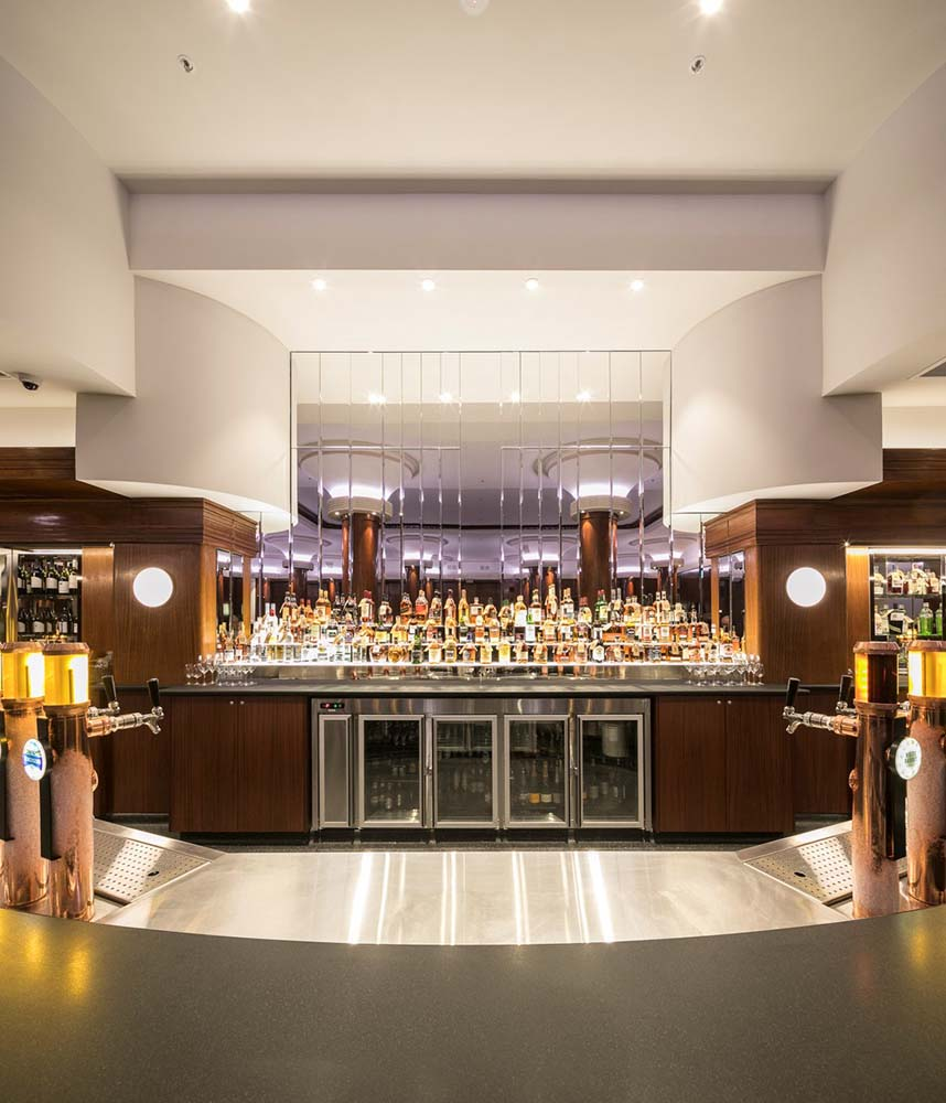 City tattersalls club - Commercial Renovation - Bar area