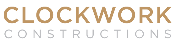 new home builder - clockwork constructions logo - number one house builders sydney - licensed builders - construction companies